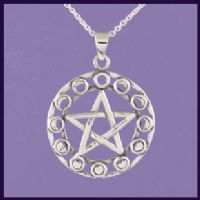 Moon Phase Pentagram